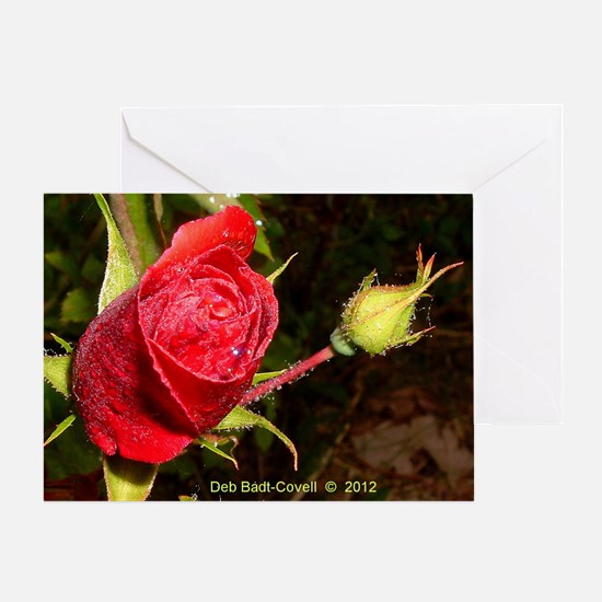 Smells Like Roses Greeting Card