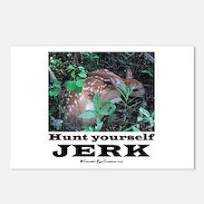 Hunt Yourself Jerk Postcards (Package of 8)