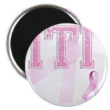 ITI initials, Pink Ribbon, Magnet