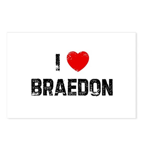 I * Braedon Postcards (Package of 8)