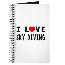 I Love Sky Diving Journal