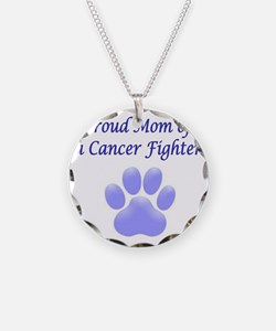 Proud Mom Paw Necklace