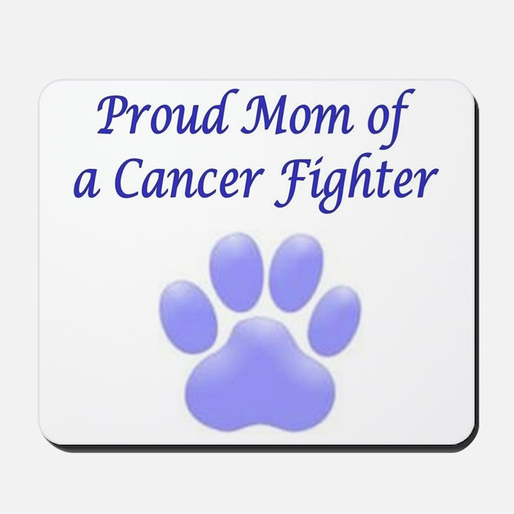 Proud Mom Paw Mousepad