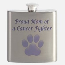 Proud Mom Paw Flask