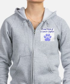 Proud Mom Paw Zip Hoody