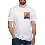 Tortoiseshell West Fitted T-Shirt