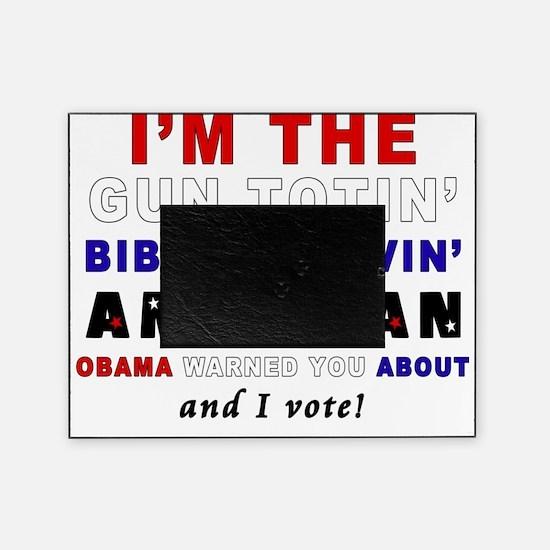 Gun Totin Picture Frame