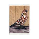 Tortoiseshell West Rectangle Magnet (100 pack)