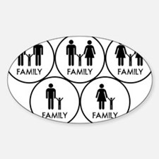 Family black Decal