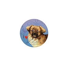 Tibetan Spaniel Mini Button
