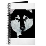 Malamute Black & White Journal