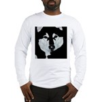 Malamute Black & White Long Sleeve T-Shirt