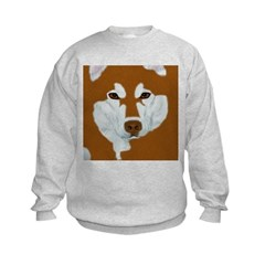 Red & White Malamute Sweatshirt
