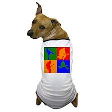 Rock Star Pop Art Dog T-Shirt