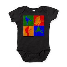 Rock Star Pop Art Baby Bodysuit