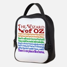 Wizard of Oz Quotes Neoprene Lunch Bag