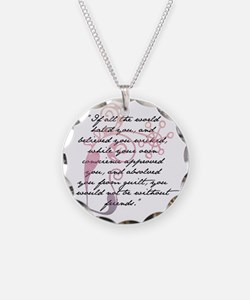 Jane Eyre Quote Necklace