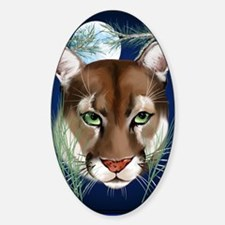 Midnight Moutian Lion PosterP Decal