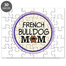 French Bulldog Mom Puzzle