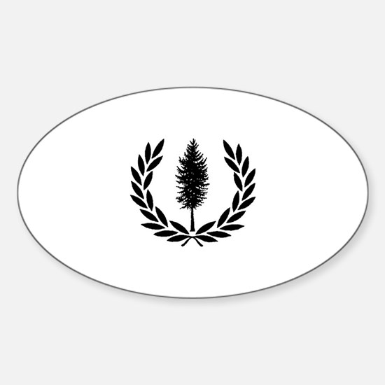 Cascadia Seal Sticker (Oval)