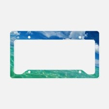 Swim License Plate Holder