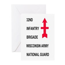 32nd Infantry Brigade<BR>Greeting Cards (6)