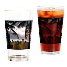 Surf Costa Rica Drinking Glass