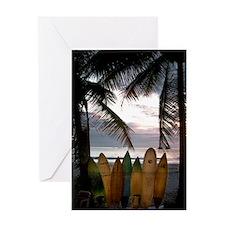 Surf Costa Rica Greeting Card