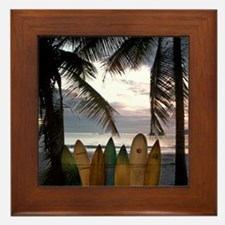 Surf Costa Rica Framed Tile
