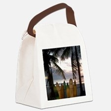 Surf Costa Rica Canvas Lunch Bag