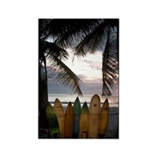 Surf Costa Rica Rectangle Magnet