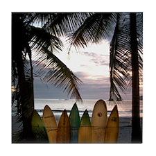 Surf Costa Rica Tile Coaster