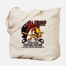 Dakota Troop Afghanistan Shirt 2012 Final Tote Bag