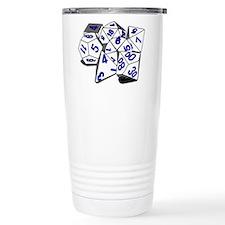 Polyhedral Gaming Dice Set Travel Mug