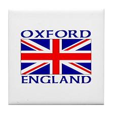 Cute Oxford england Tile Coaster