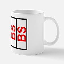 BS SCCA Solo Class Plates Car Magnet 20 Mug