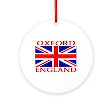 Unique English football Ornament (Round)