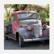 Old Truck 2 Tile Coaster