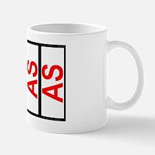AS SCCA Solo Class Plates Car Magnet 20 Mug