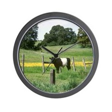 Oreo Cow 2 Wall Clock