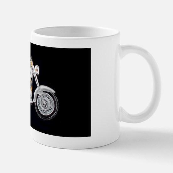 Silver Fat Boy Mug