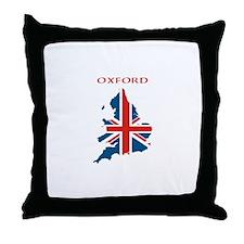 Funny Oxford england Throw Pillow