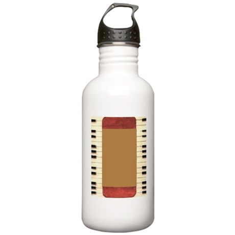 Piano Frame Stainless Water Bottle 1.0L