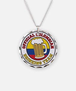 Official Colombian Drinking  Necklace