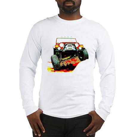 Jeep rock crawling Long Sleeve T-Shirt