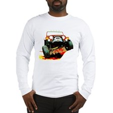 Jeep rock crawling Long Sleeve T-Shirt