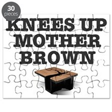 KNEES UP MOTHER BROWN Puzzle