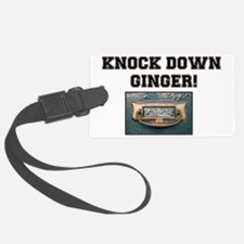 KNOCK DOWN GINGER - UK Luggage Tag