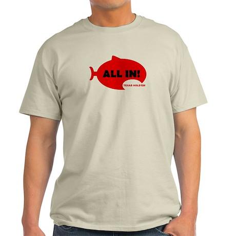 Shark Poker Shirts Light T-Shirt