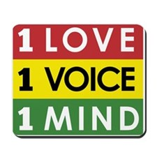NEW-One-Love-voice-mind3 Mousepad